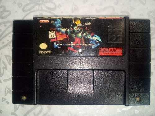 Video Juego Killer Instinct Super Nintendo Sns Akle Usa. 5ve