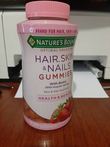 Vitaminas Para Cabello/piel/uñas Con Biotin 230 Gomitas