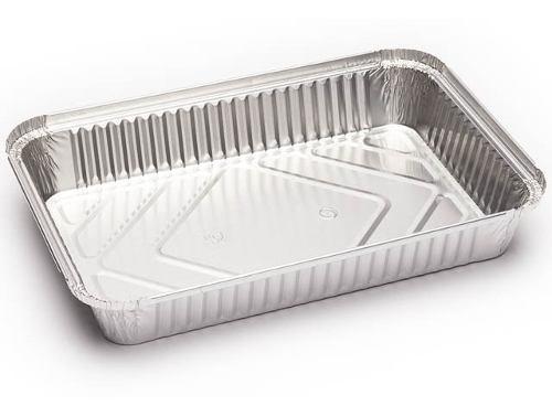 Bandeja De Aluminio Desechables  Sin Tapa