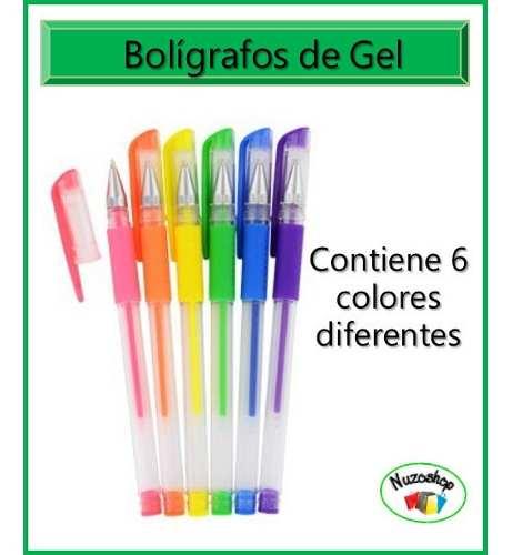 Bolígrafos De Gel Para El Colegio, Tarjetería, Oficina