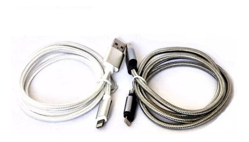 Cable iPhone Lightning Nylon - 5 6 7 Y 8