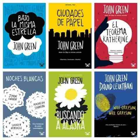 Colección Completa De John Green (7 Libros)