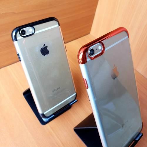 Forro + Vidrio Templado iPhone 6 6s 7 8 Plus X Varios Modelo