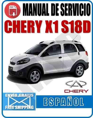 Manual De Servicio Chery X1 S18 Myp