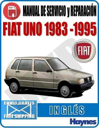 Manual De Servicio Y Reparación Fiat Uno  Myp