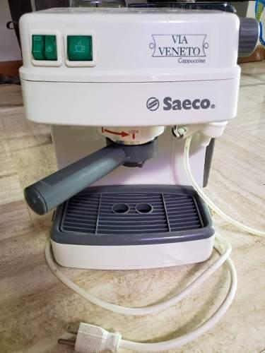 Maquina De Cafe Expreso Marca Saeco Usado