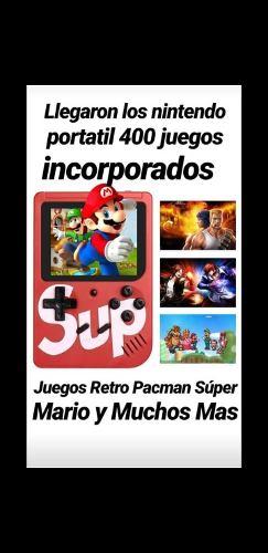 Nintendo Portatil 400 Juegos Incorporados