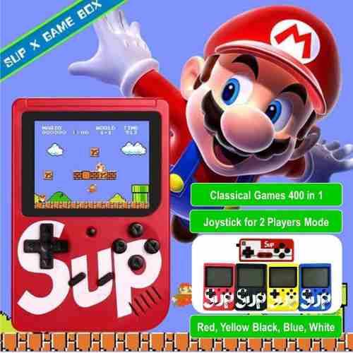 Nintendo Sup Game Box 400 Juegos Tv Batería De Litio Nuevo