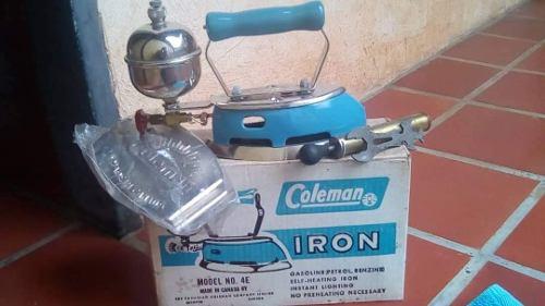 Plancha A Gasolina. Marca Coleman