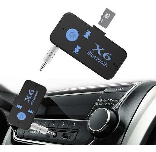 Receptor Audio Aux - Bluetooth Vehiculo Micro Sd Nuevos!