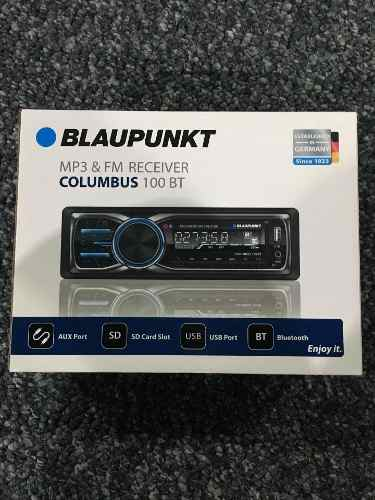 Reproductor Blaupunkt Bluetooth Aux, Usb Made In Germany