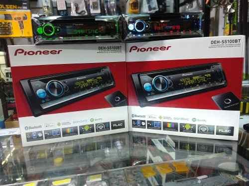 Reproductor Pioneer Deh-sbt Bluetooth Mixtrax Usb 3 Rca