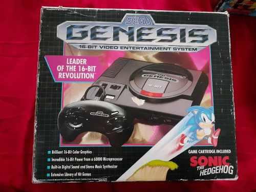 Sega Genesis Con Caja Y Manual Original