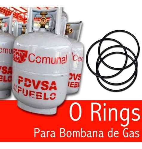Sello Orings Para Bombona De Gas Domestico (100 Unds)