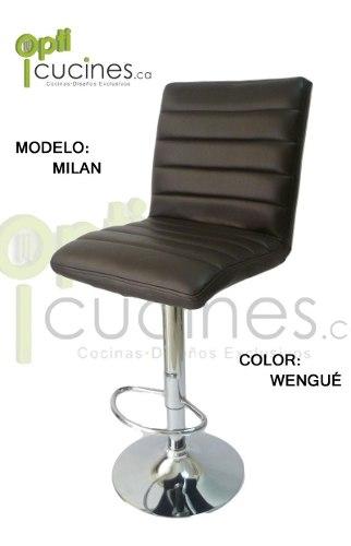 Silla De Barra Modelo Milan