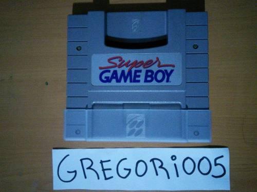 Super Game Boy Para Super Nintendo, Precio B!