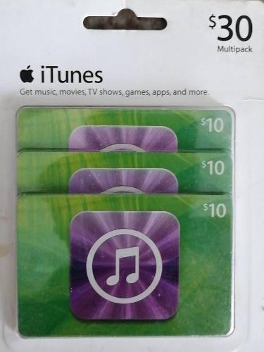 Tarjetas Para Compra De Aplicaciones Itunes Apple
