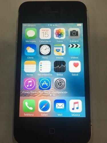 iPhone 4s 16gb Color Negro Digitel Camara 8mp