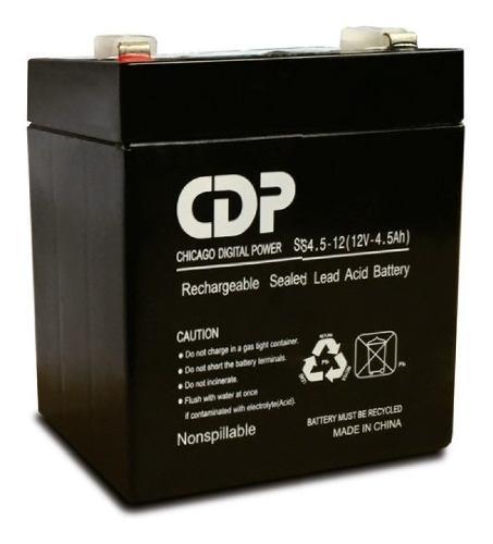 Bateria Ups 12 V 4.5 A Cdp Nueva Sellada Original Lsb