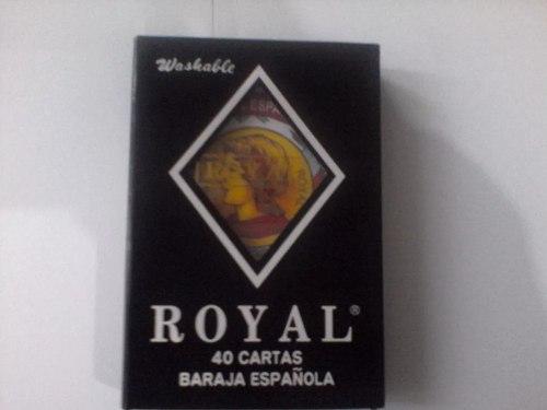 Cartas Españolas 100% Plásticas, Originales,40cartas,