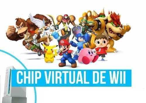 Chipeo Virtual, Actualizacion Y Juegos Para Wii Psp Dsi 3ds