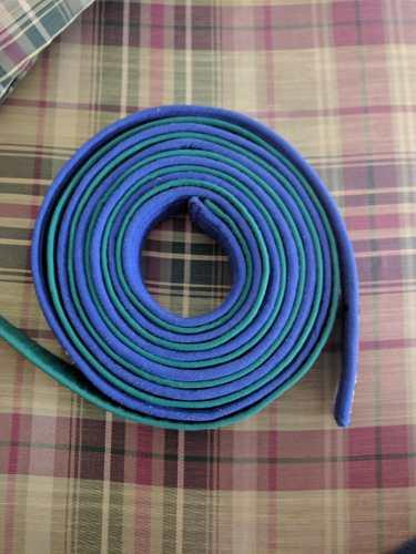 Cintas De Karate Verde Y Azul