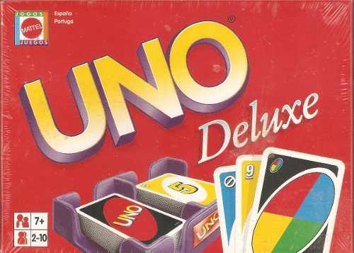 Juego De Cartas Uno Deluxe - De Empaque Nuevo