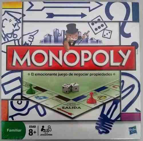 Juego De Mesa Monopolio Original De Hasbro25brdes