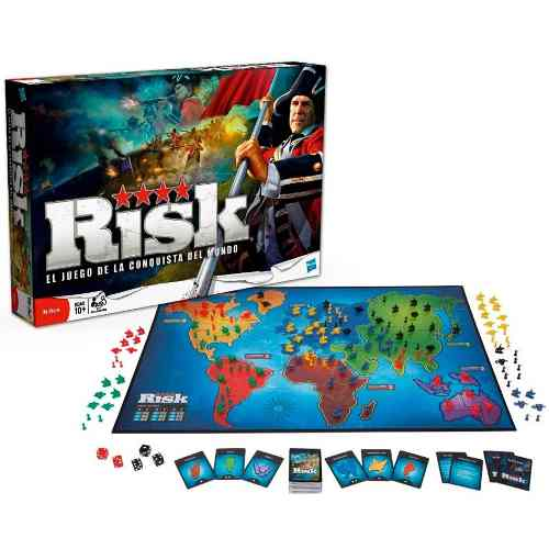 Juego De Mesa Risk De Hasbro / Tienda Fisica