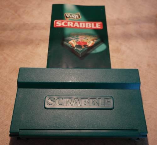 Juego De Scrabble Viajero Original De Mattel. Nuevo