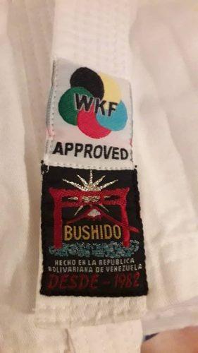 Kimono Bushido + Cinturon Negro Usado