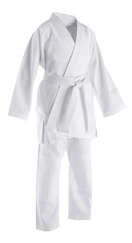 Kimono De Karate. Con Su Cinta Blanca Perfecta Talla 5