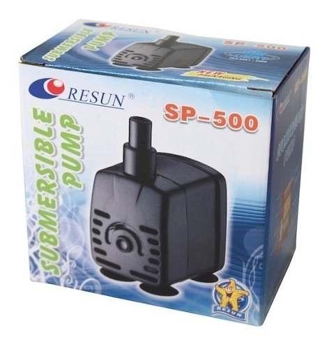 Resun Sp500 Bomba De Agua Sumergible 0.60m Fuente, Acuario