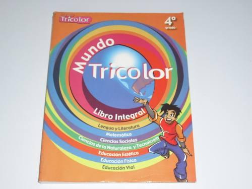 Enciclopedia Mundo Tricolor 4to. Grado