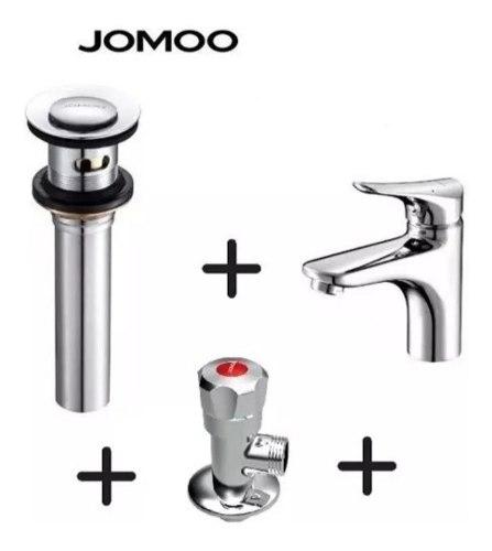 Griferia Monomando De Lavamano De Lujo Jomoo+desague+arrest