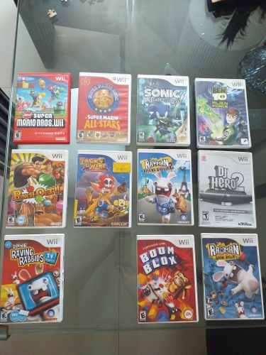 Juegos Originales De Wii, Usados En Buen Estado