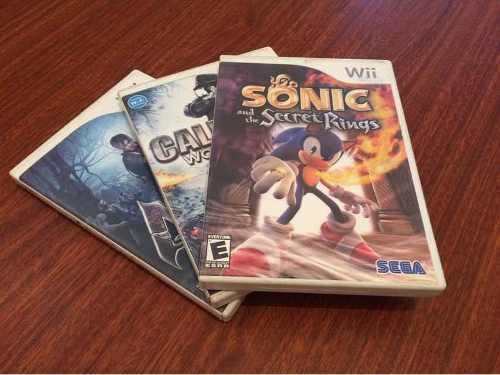 Juegos Para Nintendo Wii Lote De 3 Juegos