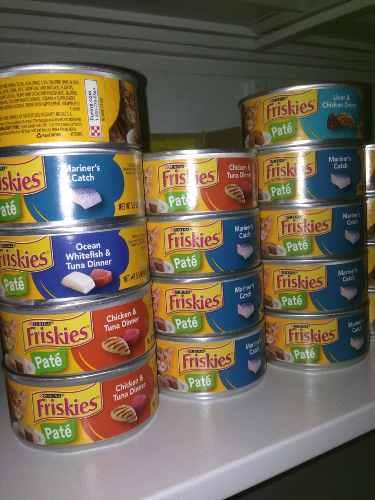 Latas Friskies Alimento Para Gatos