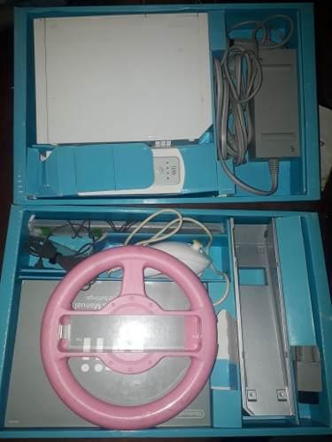 Nintendo Wii Con Control Y Volante