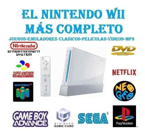 Nintendo Wii Con El Más Avanzado Chip  Juegos!!!