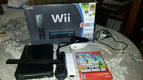 Nintendo Wii Original Mas Dos Controles.