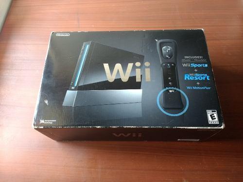 Nintendo Wii Sport Resort Negro