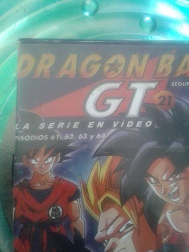 Peliculas Vhs Serie De Dragon Ball Gt