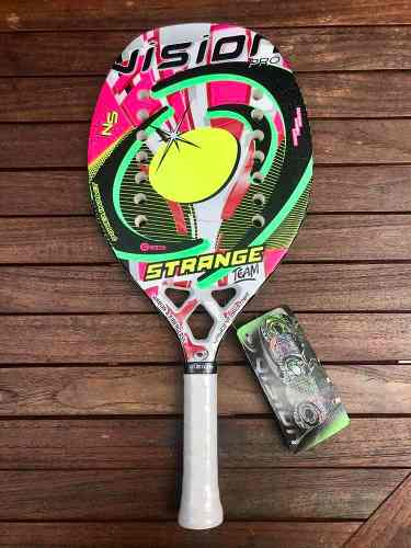 Raqueta De Beach Tennis Vision Strange Team