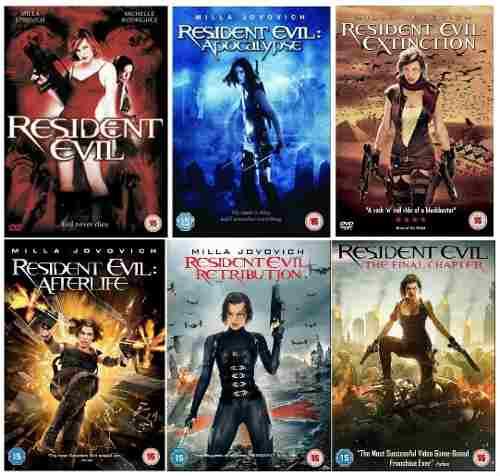 Saga Resident Evil En Digital Usb