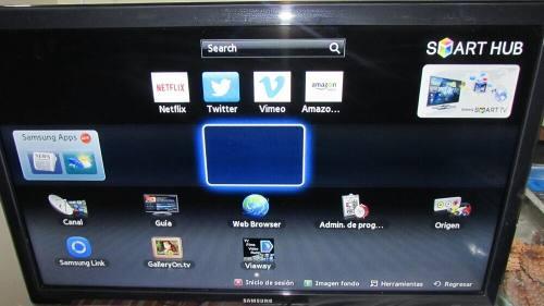 Samsung Smart Tv 32 + Bluray Sony + 100 Películas