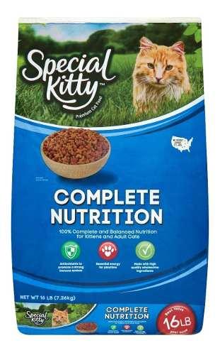 Special Kitty, Alimento Seco Para Gatos Por Kg.