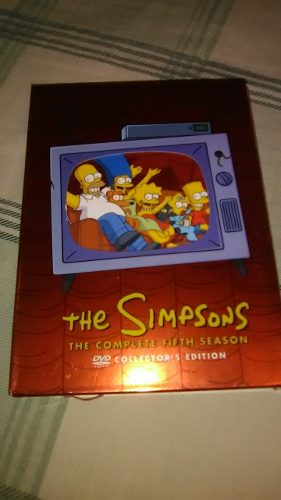 Temporada 5 De Los Simpsons En Excelente Estado