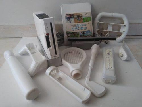 Wii Con Sus Accesorios