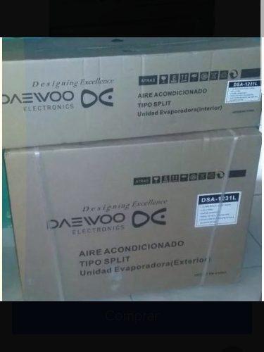 Aire Acondicionado Daewoo Split De 12 Mil Btu